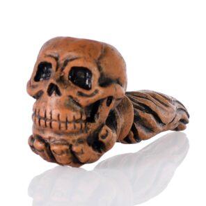 Трубка Череп керамическая