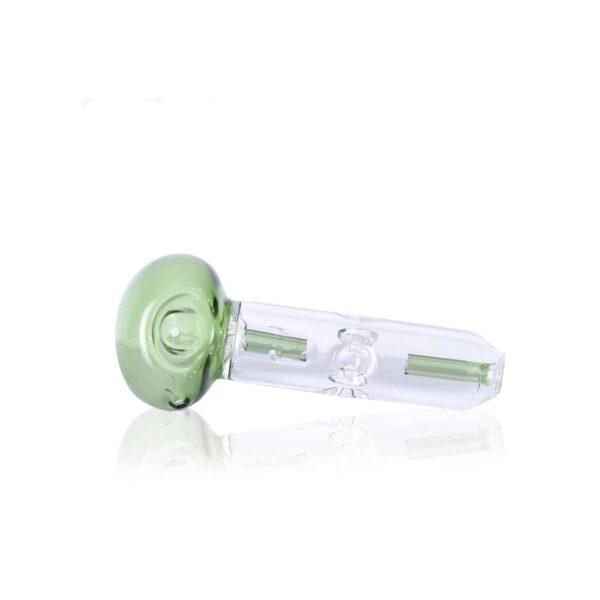 Зеленая трубка из стекла