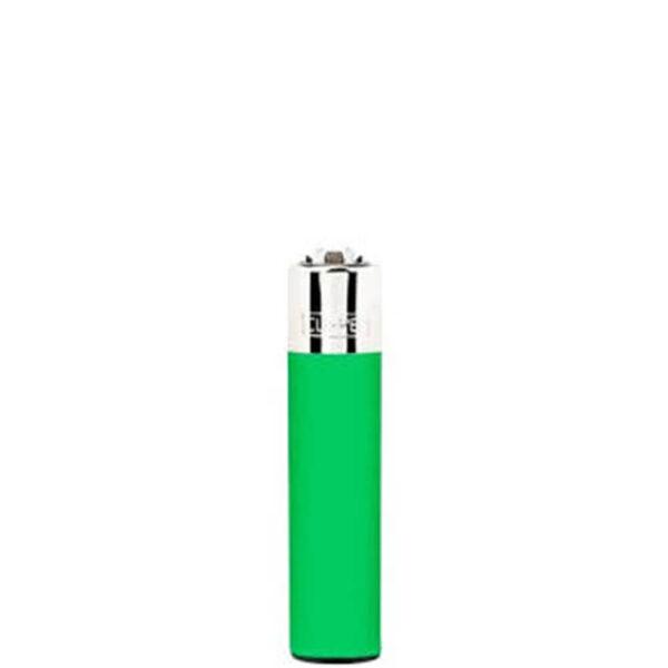 запальничка кліппер зелена