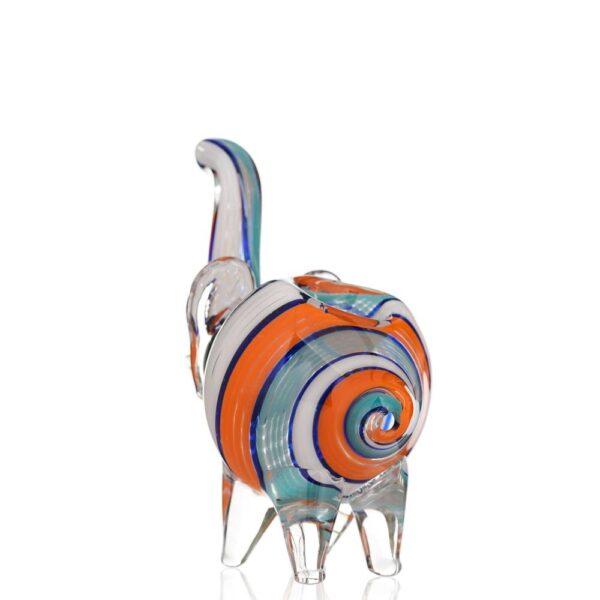 різнокольорова трубка слоник невеликого розміру
