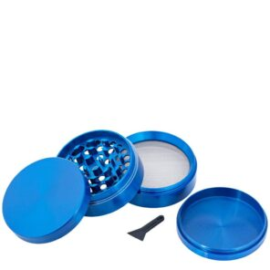 Гриндер металлический синий 4 части, 40 мм