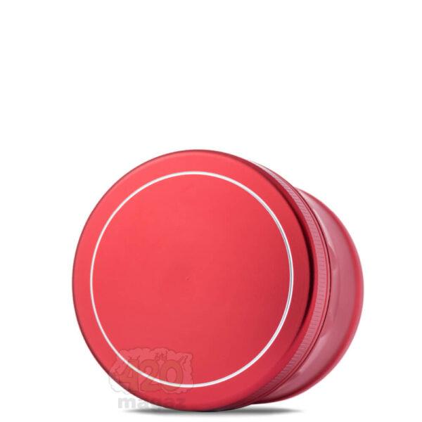 Прочный металлический красный гриндер 4 части, 60 мм