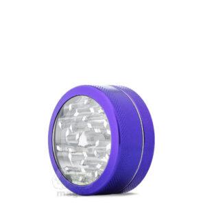 Гриндер фиолетовый металлический 2 части, 50 мм