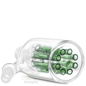 Прекулер для бонгу зелений з древоподібним перколятором, 14,4 мм