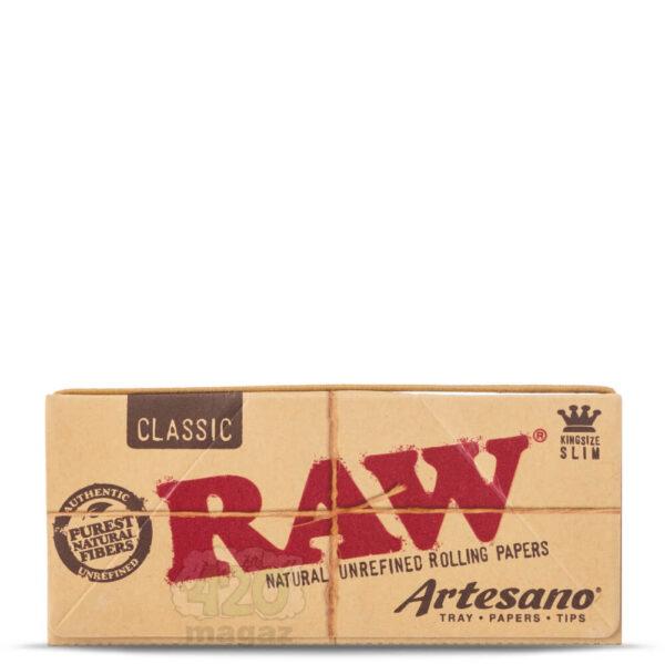 Бумага для самокруток RAW Artesano Organic Herb Kingsize Slim