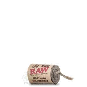 Конопляный фитиль RAW Hemp Wick, 3 метра