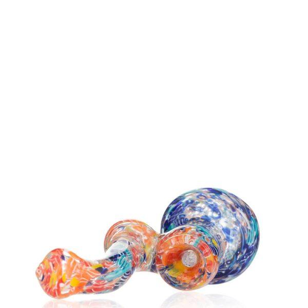 Разноцветный баблер из стекла