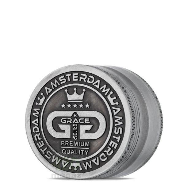 Гриндер Grace Glass old silver, 63 мм