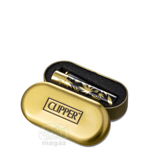 Зажигалка СLIPPER LIMITED GOLD EDITION